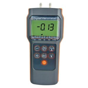 15 00psi Differential Pressure Meter Electronic Manometer Portable Test Tool