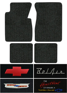 1957 Chevy Bel Air Floor Mats 4pc Loop