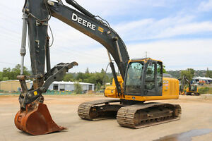 2012 Deere 200d Lc Excavator 4500hrs Cab Heat ac Hyd Thumb Qc Aux Hyd