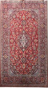 4x7 Ft Kashan Fine Decorative Persian Wool Handmade Rug