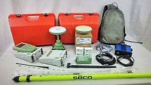 2005 Leica Gx1230 Dual frequency Base Rover Rtk Gps System Gps Only