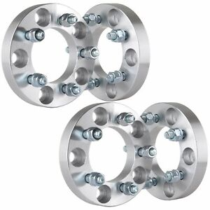 4x 1 Adapter 5x127 To 5x114 3 Wheel Spacers 12x1 5 Studs For Dodge Chrysler