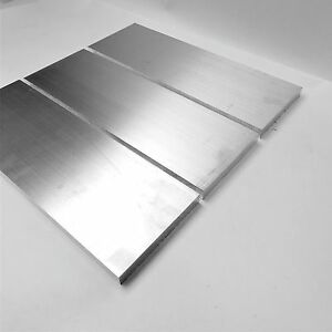 1 Thick 6061 Aluminum Plate 5 625 X 21 Long Qty 3 Flat Stock Sku140718