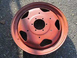 Rare Set Of John Deere Unstyled L Rear Rims Al2286t Rerimmed