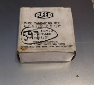 Reed Pipe Threading Die 05466