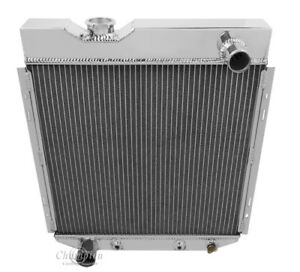2 Row 1 Rs Champion Radiator For 1965 1966 Ford Mustang V8 Engine Swap