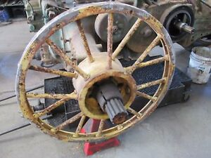 Very Rare Spoke Wheels To Put Duals On An Unstyled John Deere G