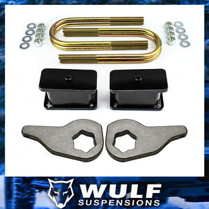 3 Front 3 Rear Lift Kit W U Bolts For 2002 2005 Dodge Ram 1500 4wd