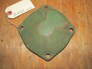 Nos John Deere Governor End Bearing Housing For Antique B 50 Tractors B283r