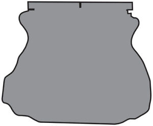 1994 2004 Ford Mustang Trunk Mat Tm Felt Fits Coupe