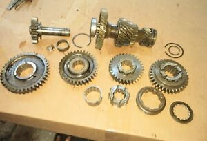 Allis Chalmers Wd45 Tractor Ac Transmission Lower Top Rev Drive Gears Parts