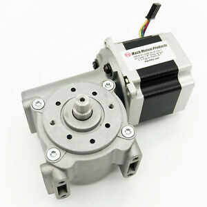 Nema 23 Stepper Motor And Right Angle Gearbox 8 1 Ratio Amp 280359 0 Connector