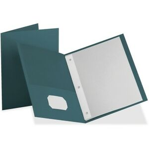Oxford trade Twin pocket Folder With Prong Fasteners 57755ee