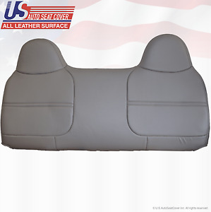 1999 2000 2001 2002 Ford F550 Xl Work Truck Bench Lean Back Vinyl Cover Gray