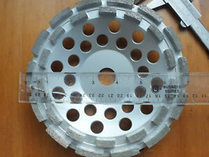 Diamond Grinding Cup Wheel Double Row 7 Inch