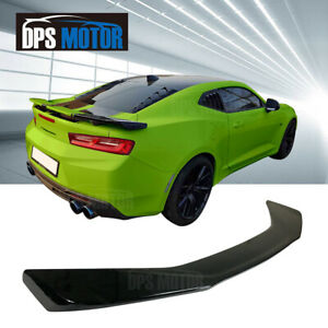 Abs Zl1 Style Rear Trunk Spoiler Lip Wing For 2016 18 Chevy Chevrolet Camaro