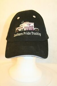 Southern Pride Trucking San Diego Freight Co Black Adjustable Dad The Max Hatcap