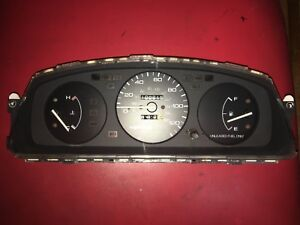 92 93 94 95 Honda Civic Dx Manual Gauge Cluster 109k 92 95 Oem