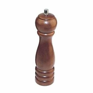 Tabletop Pepper Mills 8 inch Traditional With Walnut Finish Set Of 6 By Winco