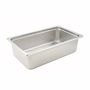 Winco Spjh 106 Steam Table Pan Full Size 6 inch Deep Case Of 12