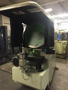 Jones Lamson 30 Optical Comparator Rebuilt In 99 By J l 10 20x And Surface
