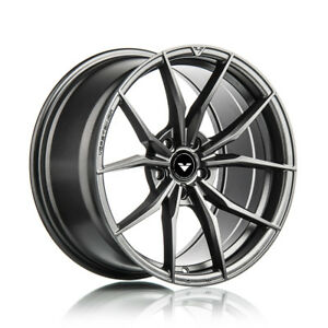 18 Vorsteiner V Ff 108 Forged Graphite Wheels Rims Fits Bmw E90 E92 M3