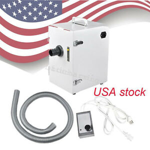 Usa Dental Lab Digital Single Row Dust Collector Vacuum Cleaner 370w Cleaning Ce