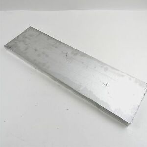 1 1 4 Thick 1 25 Aluminum 6061 Plate 4 625 X 19 75 Long Sku 136399