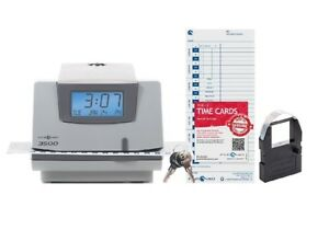 Pyramid 3500 Multi purpose Time Clock And Document Stamp New Open Box