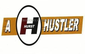 Nostalgic A Hurst Hustler Vinyl Decal Sticker 4489