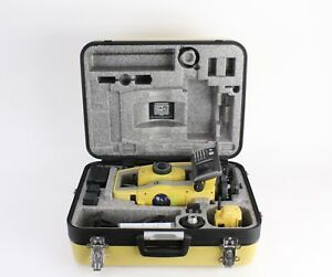 Topcon Ps 103a 3 Sec Robotic Total Station Rc 5 W Case Accessories