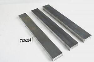 1 Thick Aluminum 6061 Plate 2 25 X 18 Long 3 Pieces Sku137204