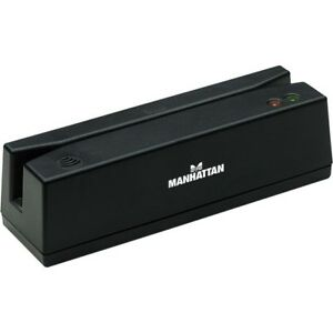 Manhattan Usb Magnetic Strip Card Reader 460255