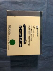 Covidien Loading Unit Dst Tech 60mm 3 8mm Gia6038l In Date Box 6 Units