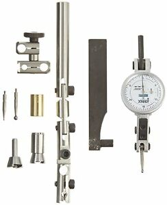 Fowler 52 562 110 Horizontal White Dial X test Indicator And Accessory Combo 1