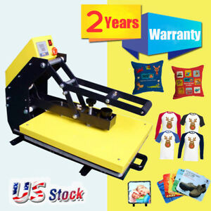 Usa Stock 110v 16 x20 Auto Open T shirt Heat Press Machine With Slide Out Style