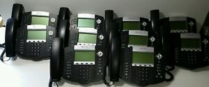 Lot Of 10 Polycom Ip 650 Sip Digital Phones no Power Supply 2201 12630 001