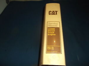 Cat Caterpillar 3406e Truck Engine Service Shop Repair Manual Book 5ds 1lw