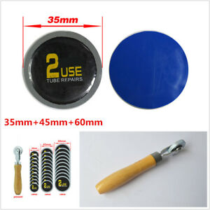 30pcs Universal Car Motorcycle Tyre Tire Repair Rubber Glues Patch Patching Tool
