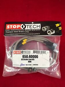 Stoptech Stainless Steel Front Brake Line 1990 2001 Acura Integra 950 40000