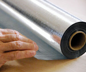 500sqft Super R Plus Hd Radiant Barrier Reflective Insulation Solid 8 Mil