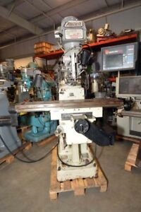 Alliant Vertical Milling Machine inv 38301