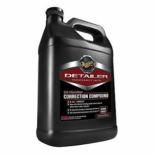 Meguiar s D30001 Da Microfiber Correction Compound 1 Gallon