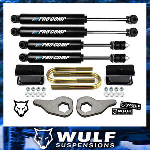 3 Front 3 Rear Lift Kit 2002 2005 Dodge Ram 1500 4wd Procomp Es9000 Shocks
