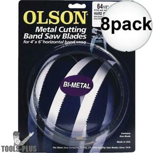 Olson Bm82664 Tooth Metal Cutting Band Saw Blade 64 1 2 X 1 2 X 10 8x New