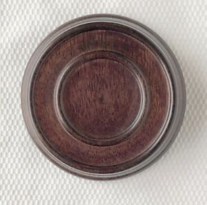 3 25 Brown Chinese Oriental Wooden Lid Cap Cover For Ginger Jar And Vases