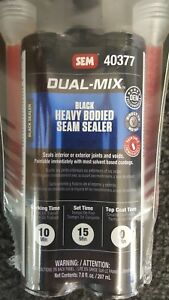 Sem 40377 Heavy Bodied Seam Sealer 7oz Seals Seams joints And Voids free Shippin