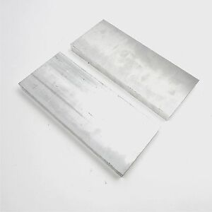 1 Thick 6061 Aluminum Plate 4 625 X 13 Long Qty 2 Flat Stock Sku137245
