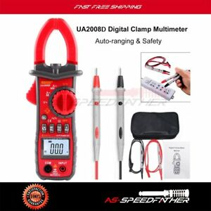 Data Hold 600a Dc ac Voltage Ac Current Resistance Digital Clamp Meter Ua2008d
