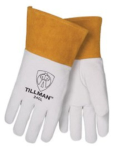 John Tillman Glove Mig tig Premium Top Grain Pearl Kidskin Leather Size Small 4